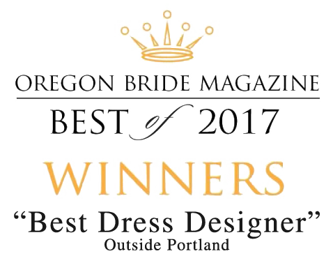 Oregon Bride Best of 2017 - Best Dress Designer