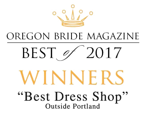Oregon Bride Best of 2017 - Best Dress Shop