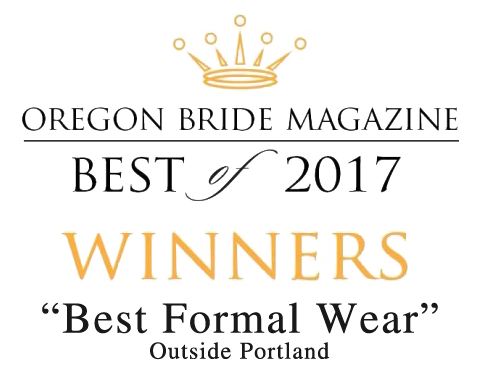 Oregon Bride Best of 2017 - Best Formal Wear