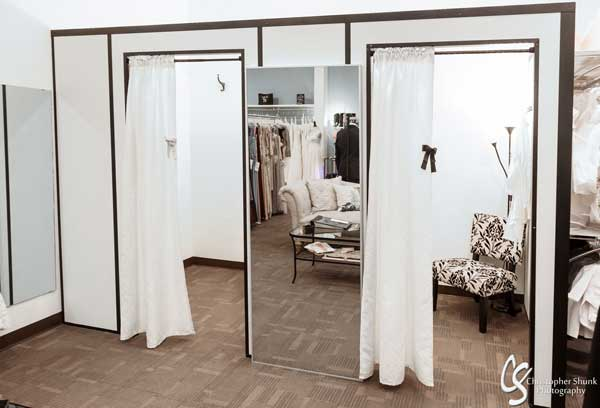 The Bridal Suite and Special Occasion dressing room
