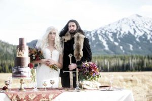 The Bridal SuiteGame of Thrones Styled Shoot 15